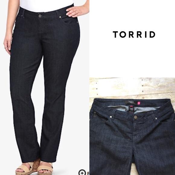 9e7f9e24432 torrid Jeans | Nwot Dark Wash Barely Bootcut | Poshmark